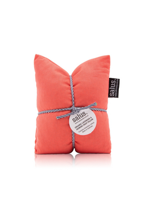 Load image into Gallery viewer, Coral Organic Lavender & Jasmine Heat Pillow