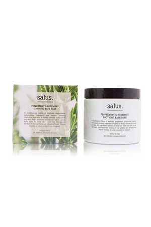 Salus - Peppermint & Rosemary Soothing Bath Soak - 500g