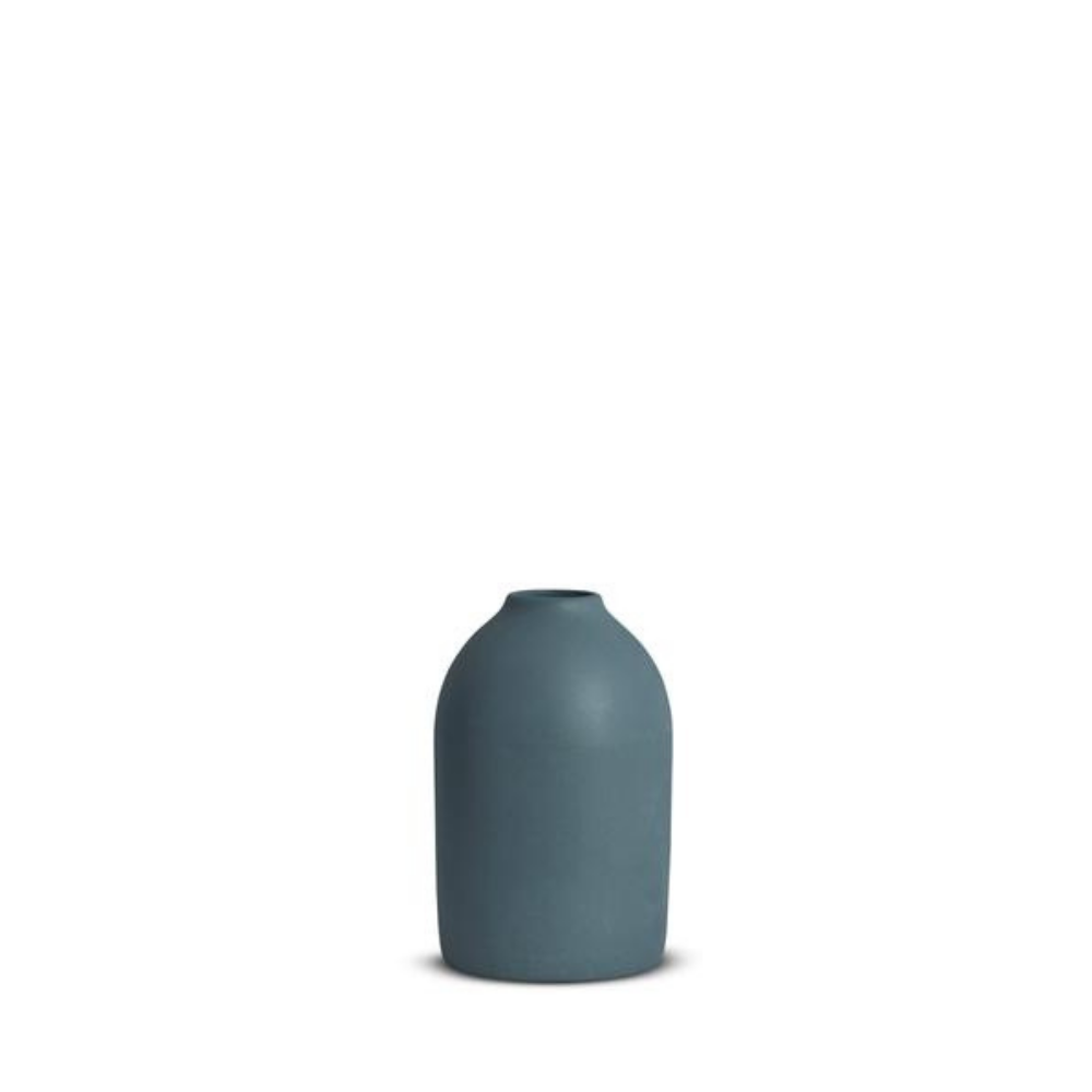 Marmoset Found - Cocoon Vase - Small - Steel Blue