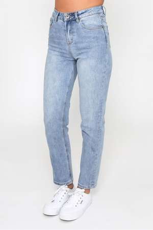 Load image into Gallery viewer, Monaco Jeans - Mom Jeans -  Blue