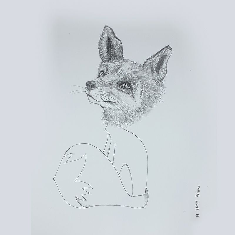 Sunday Love Wall Art - FOX