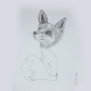 Load image into Gallery viewer, Sunday Love Wall Art - FOX