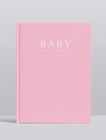 Write to Me - Baby Journal - The First Five Years - Pink