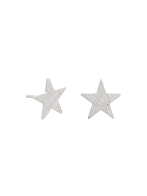 Tiger Tree - Earrings - Silver Star Stud