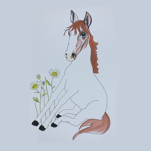 Sunday Love Wall Art -HORSE