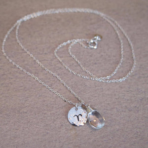Made by Byron Bay zodiac necklace Aries