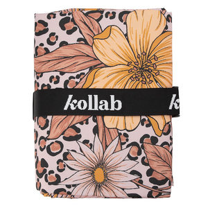 Load image into Gallery viewer, Kollab - Picnic Mat - Leopard Floral