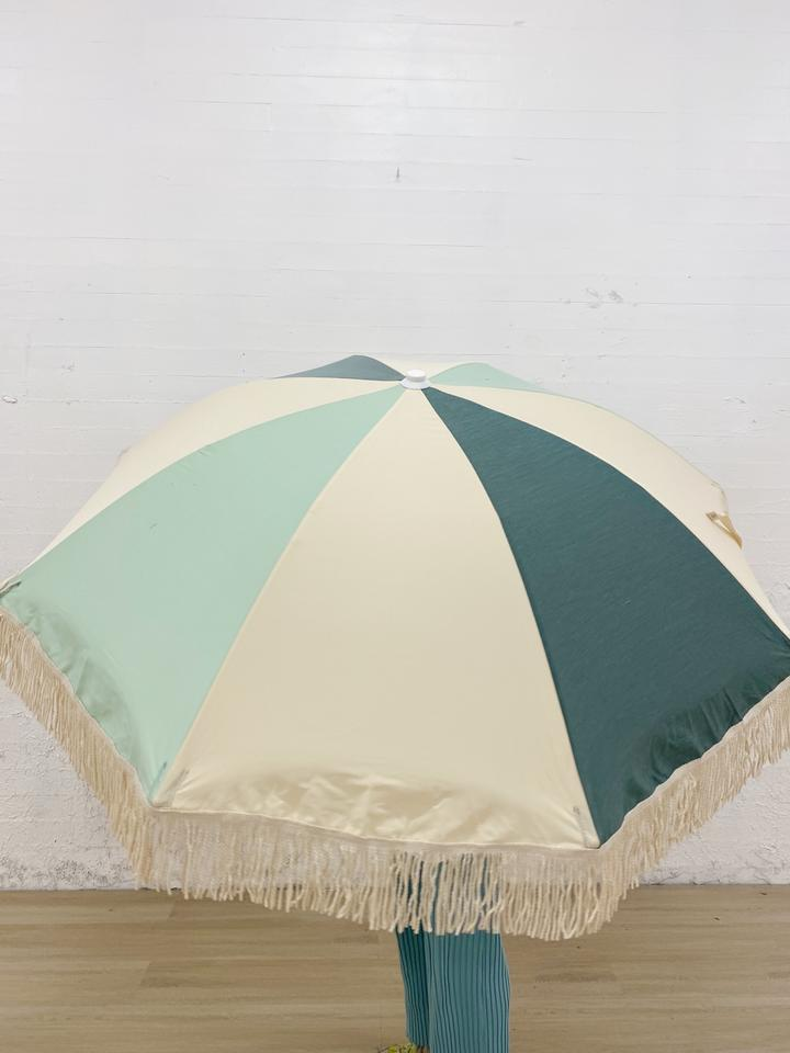 Minty green and sage tones Inspired from vintage French umbrella