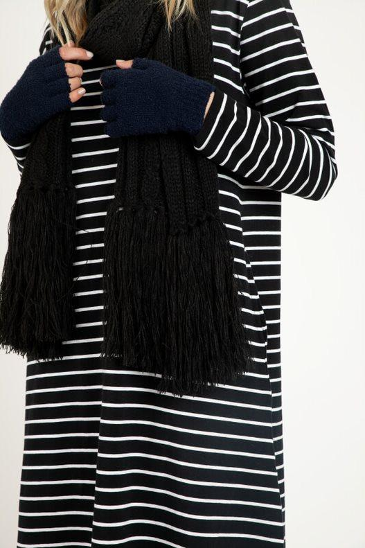 Betty Basics - Lunar Scarf - Black