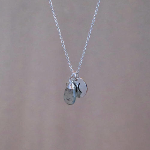 Made by Byron Bay zodiac necklace Pisces