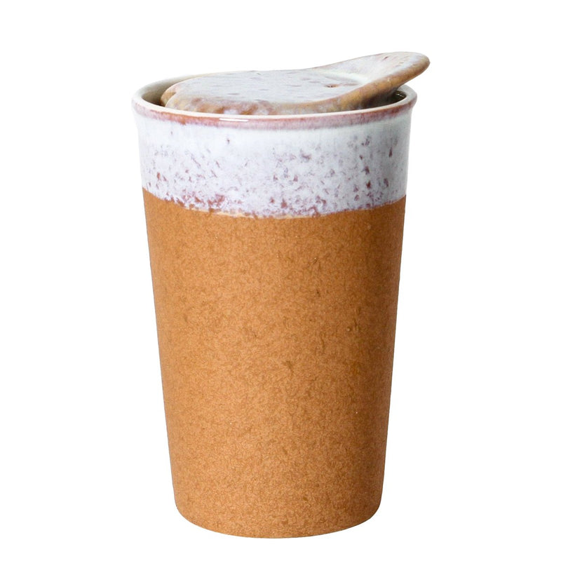It's a Keeper Ceramic Cup Tall - Raw Earth
