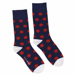 ORTC - Socks - Navy / Red Spot