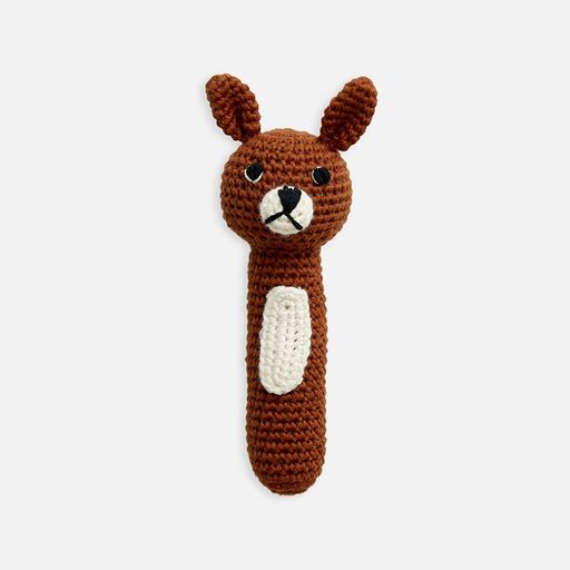 Miann & Co Hand Rattle Pumpkin Spice Bunny