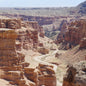 Red Sandstone Arid Canyon