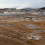 Iceland Geothermal Arid Valley