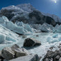 Everest Base Camp Scattered Glacier