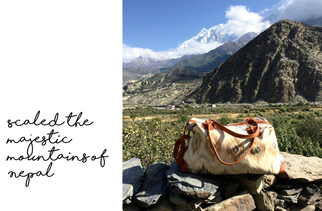 Kivari Roamer Travel Bag Nepal