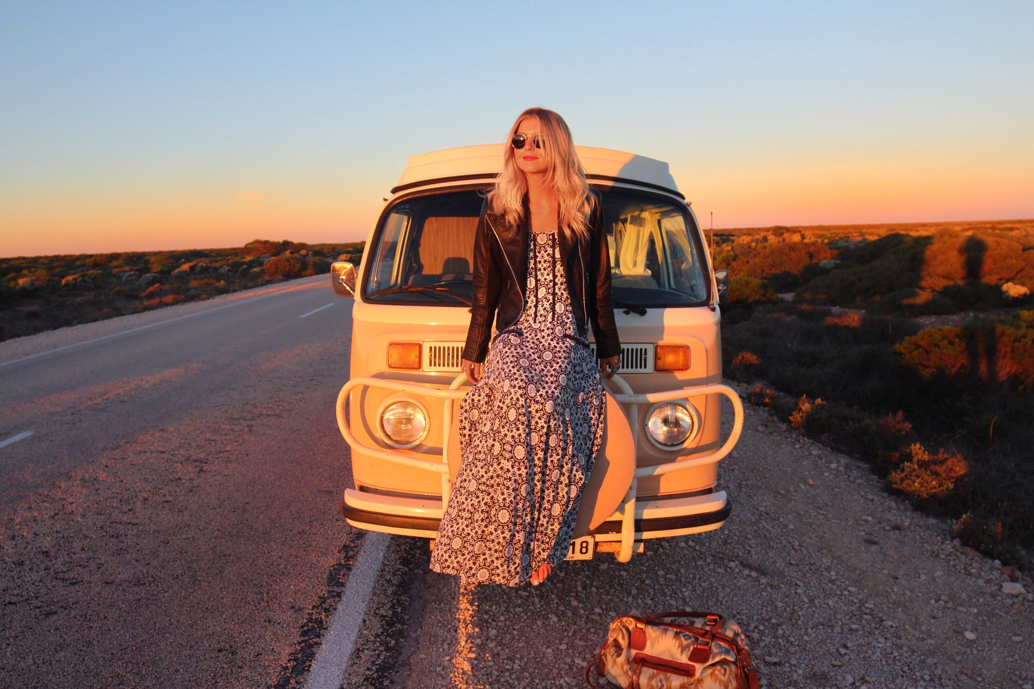 on the road with elisecook kivari bohemian style clothes vanlife blue temple drop