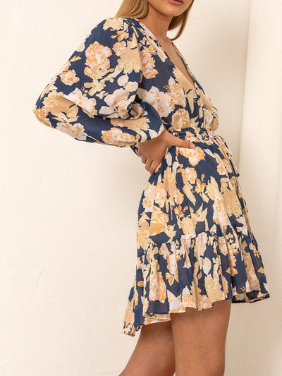 Briar Floral Cotton Mini Dress