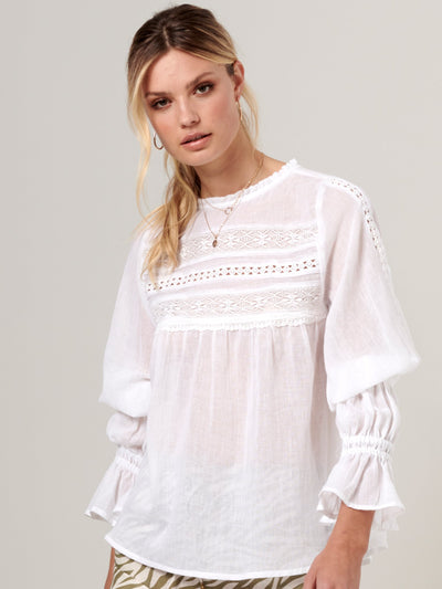 Emmison Lace Blouse