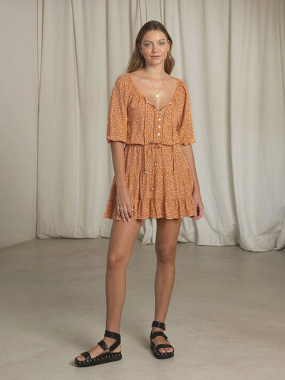Fleur Ditsy Mini Dress