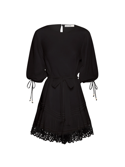 Isla Mini Dress - Black