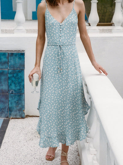 Julia Ditsy Midi Dress
