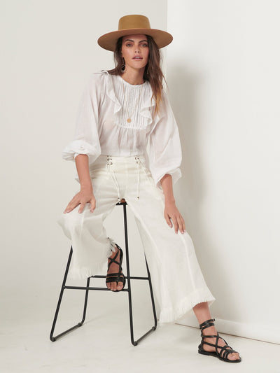Gigi Blouse - White