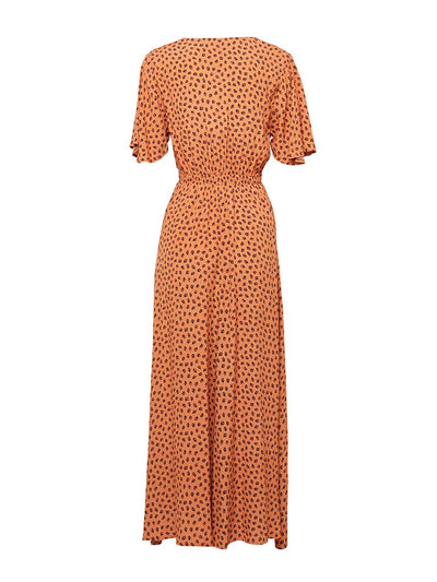 Stella Leopard Maxi Dress