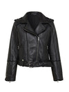 Kingsley Classic Biker Leather Jacket