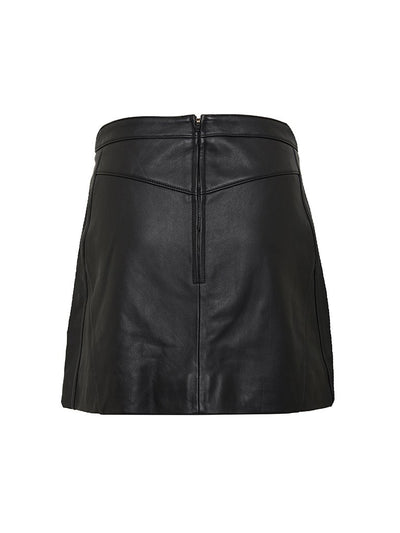 Macie Leather Skirt - PRE-ORDER