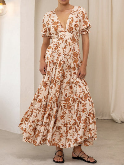Ophelia Tiered Maxi Dress