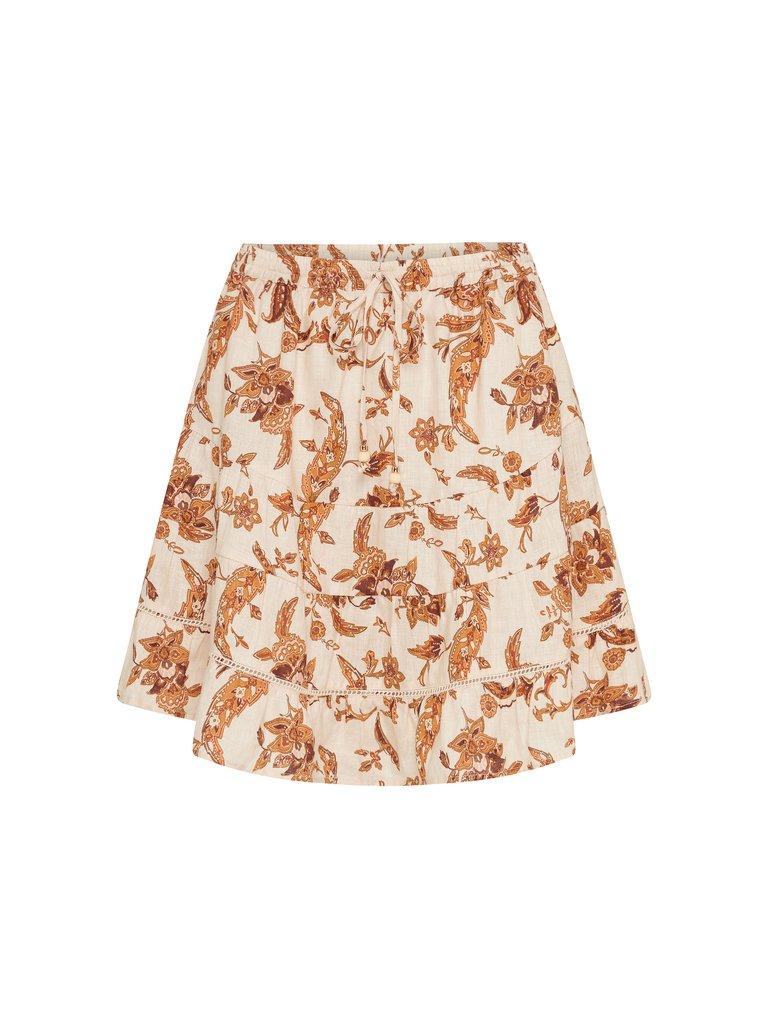 Ophelia Linen Mini Skirt