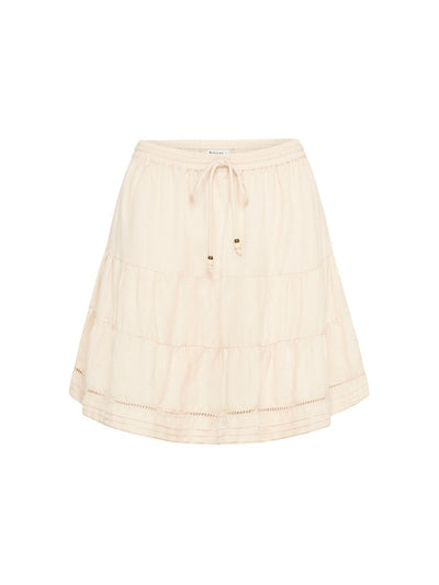 Vernazza Linen Mini Skirt