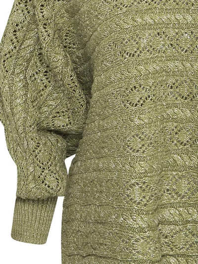 Mia Knitted Top - Fern