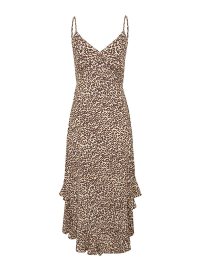 Alena Leopard Slip Dress