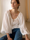 Willow Blouse - White