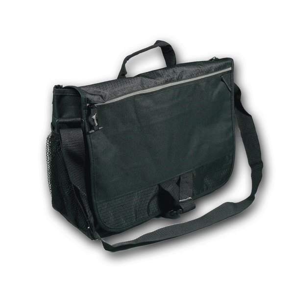 Discreet Locking Messenger-Style Bag - BagMasters