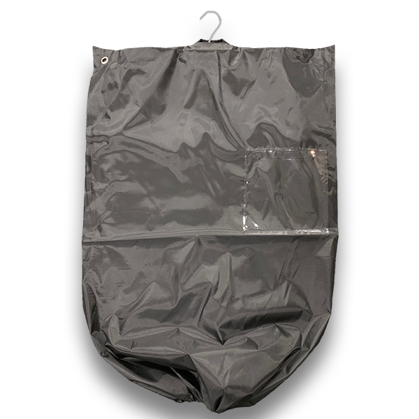 Suitbag with drawstring base and window  (cartons of 50 bags) - BagMasters