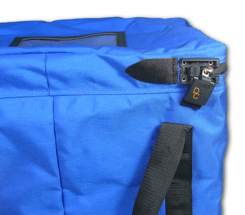 Collapsible Bag - with DC lock - BagMasters Australia