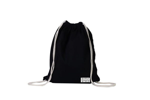 Calico/Cotton Drawstring Backpack  Bags 38cm x 46cm (Price per 200) - BagMasters Australia