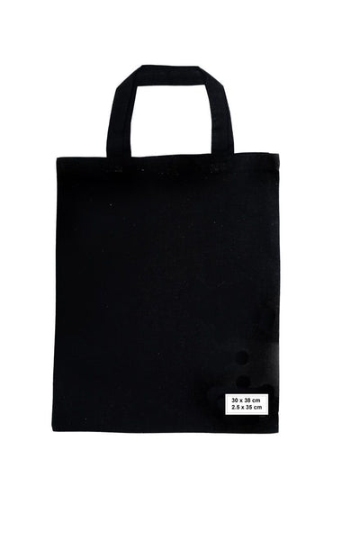 Calico/Cotton Shopping Bags 30cm x 38cm, 35cm handle (Price per 250) - BagMasters Australia