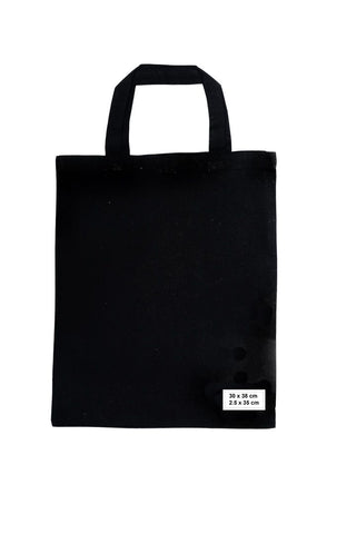 Calico/Cotton Shopping Bags 30cm x 38cm, 35cm handle (Price per 250) - BagMasters