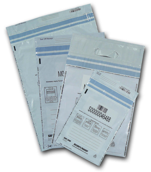 Tamper Evident Bag - Opaque - Multiple sizes