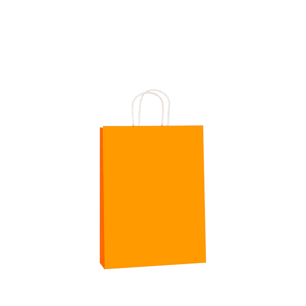 Orange Kraft w/twist handle  (price per 250) - BagMasters Australia