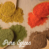 pure spices and herbs