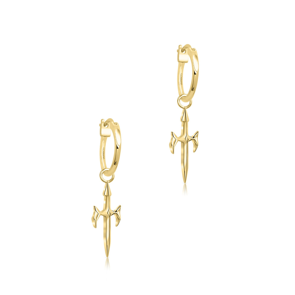 Phoenix Blade Earrings