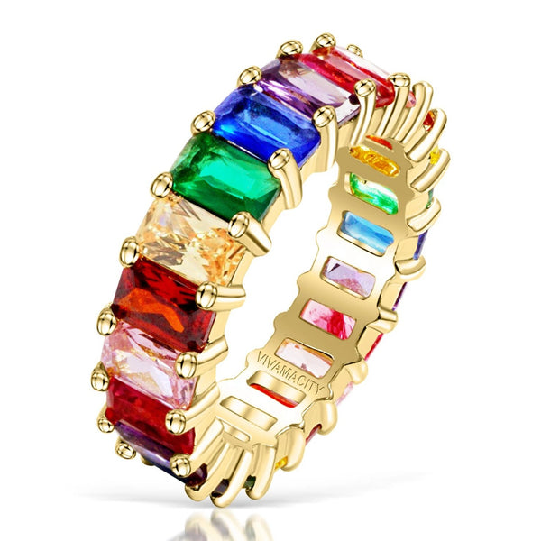 Eternal Rainbow Ring