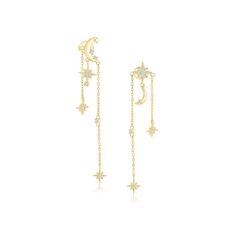 Celestial Dangle Earrings