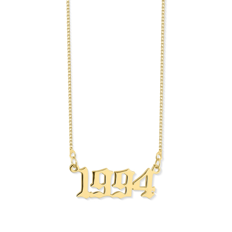 Birth Year Choker